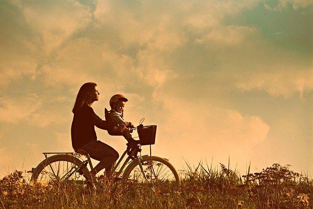 fietszitje, kinderzitje op de fiets