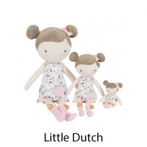 kidsenco Little Dutch Knuffelpop Rosa