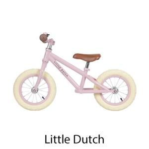 kidsenco Little Dutch Loopfiets roze