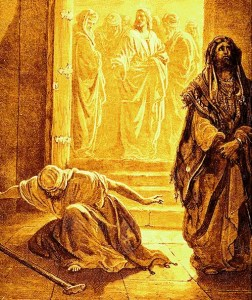 Gustav Dore's Pharisee and the Tax Collector