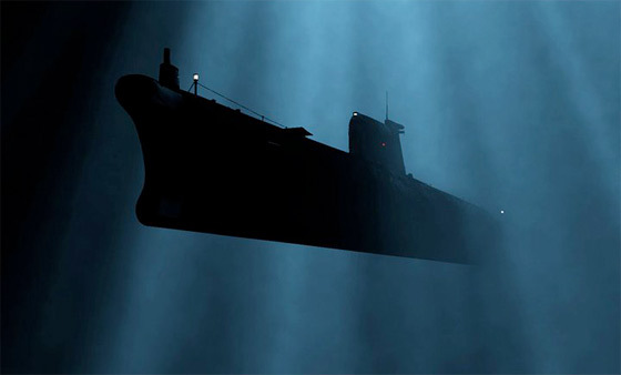 submarine-under-water