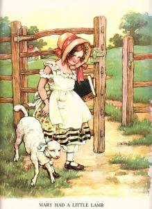 1929 Illustration by Clara M. Burd