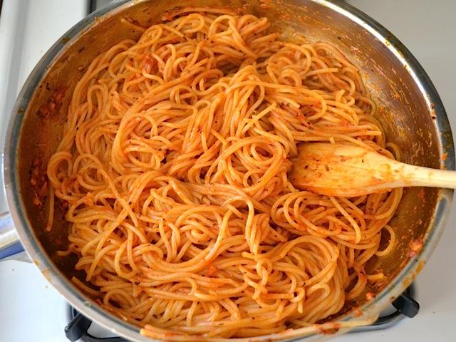 5 pasta and sauce
