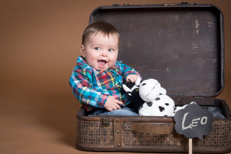 fotografía bebé Sesión  6 meses Zaragoza, kidsfoto.es