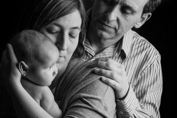 Reportaje de fotografía Newborn,  recién nacido en Zaragoza