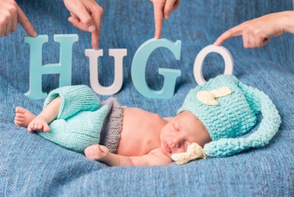 Sesión fotográfica de Bebé de 18 días en Zaragoza