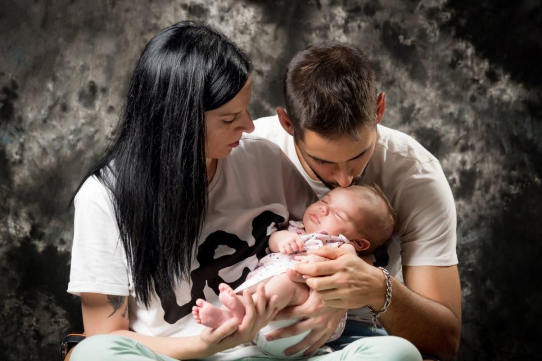 kidsfoto.es Sesión fotográfica bebé New Born, fotografía de bebé, reportaje en Zaragoza