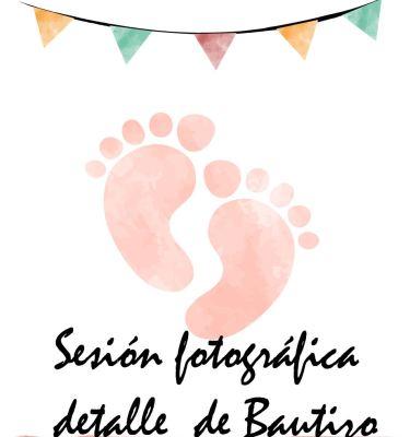 kidsfoto.es Tarjeta regalo Sesión fotográfica detalle de Bautizo