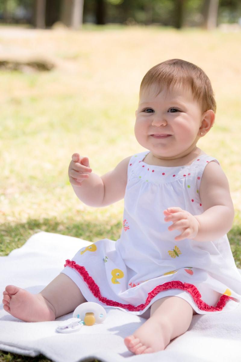 kidsfoto.es Sesión fotográfica bebé  en exterior en Zaragoza