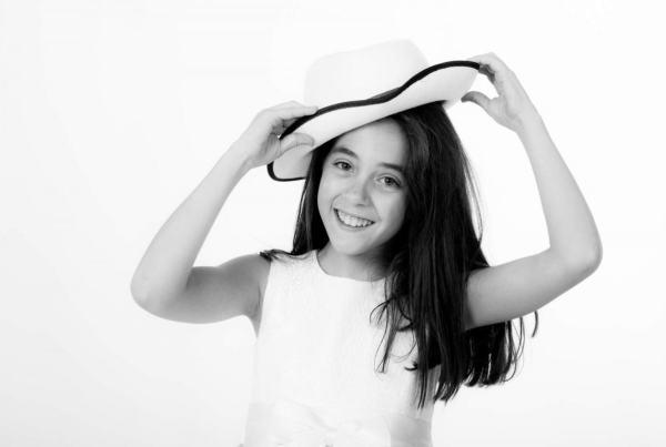 Sesión fotográfica infantil 13 años, fotografía de niños.