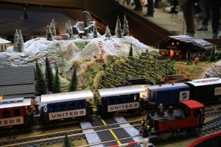 Millennium Seoul Hilton Christmas Train