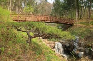 waterfall bridge Jade Garden Korea