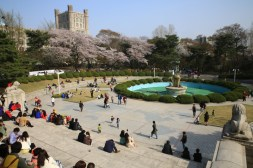 Kyunghee University - main plaza
