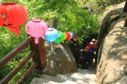 Hyangiram Hermitage Korea way up