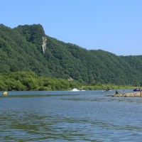 Canoeing with kids on Hongcheon River (홍천강)