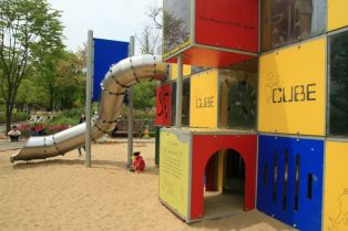 Cubic Playground West Seoul Lake Park 서서울 호수공원