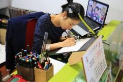 Korea Manhwa Museum, Bucheon - caricaturist