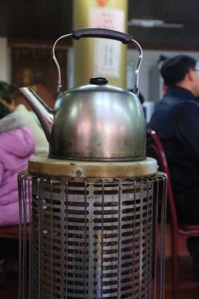 Incheon Chinatown - traditional tea kettle