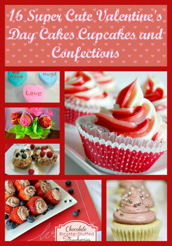 16 Super Cute Kid Friendly Valentine's Day Cake, Cupcake ...