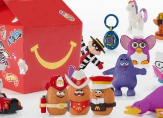 Top 3 McDonald's happy meal toys June 2020