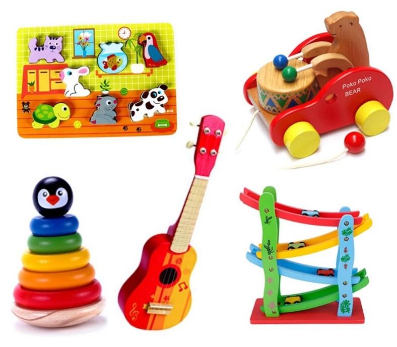 koka rotaļlietas zīdaiņiem