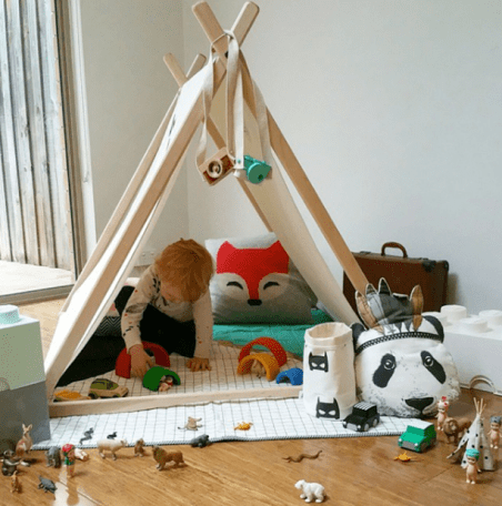 Such great heights play tent
