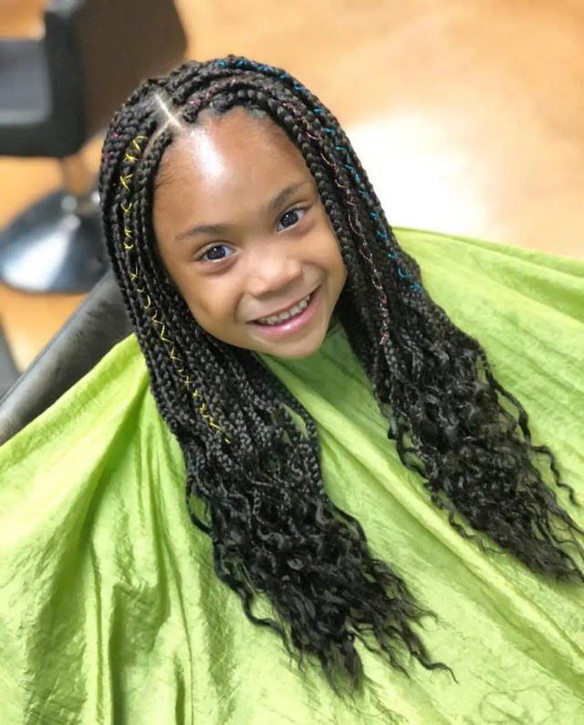 box braids hairstyles for kids 2018 | kids hairstyle haircut