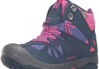 merrell kids hiking boot