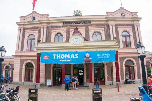 Thomas de Trein Weekend Spoorwegmuseum (babies kitchen)