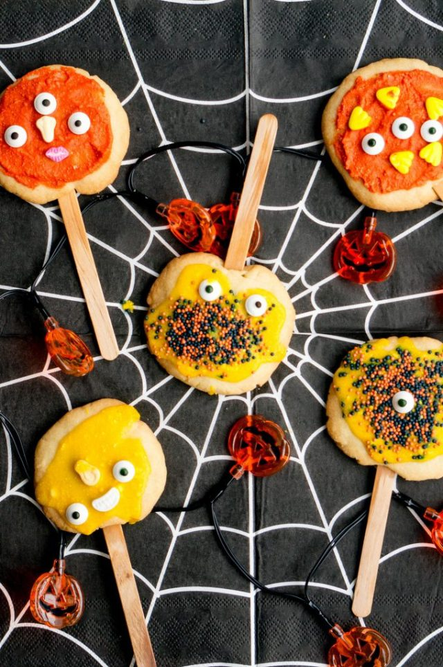 Monster Lolly Koekjes - Babies Kitchen