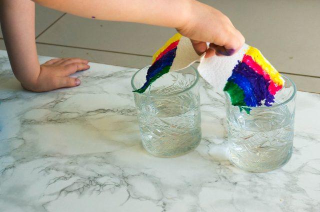 Stap 2: Een Regenboog laten Groeien | Babies Kitchen
