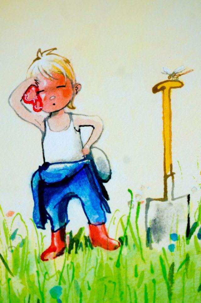Kinderboek Boer Boris Heeft Het Heet   Babies Kitchen