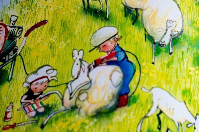 Recensie Kinderboek Boer Boris Heeft Het Heet   Babies Kitchen