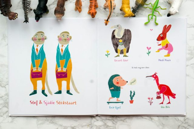 Kinderboek Van Annie Alligator tot Zeno Zebra | Babies Kitchen