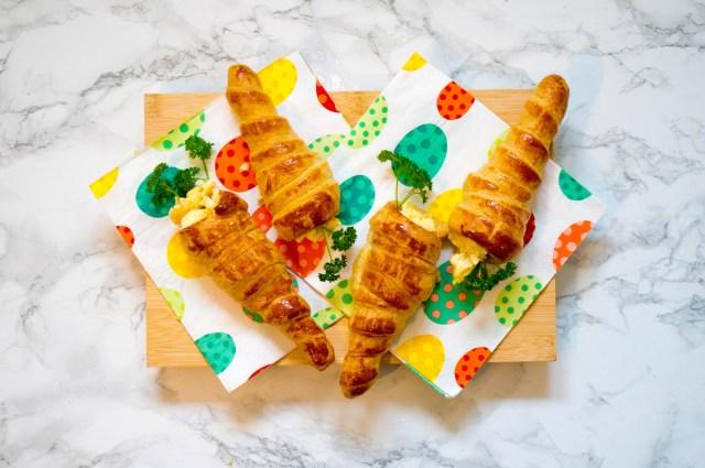 Gevulde Croissants Wortels - Kidshoekje.nl