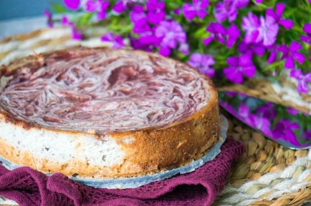 Vegan Strawberry Cheesecake - Kidshoekje.nl
