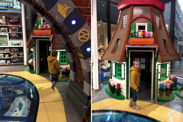 LEGO FLAGSHIP STORE Uitstapje Kidshoekje