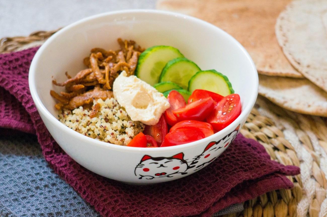 Gyros Quinoa Bowl