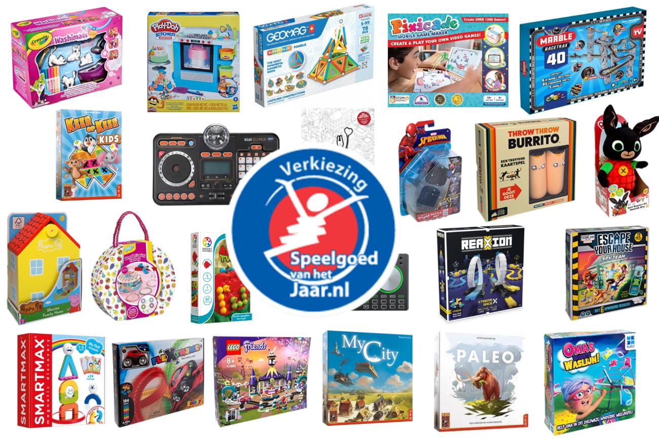 Speelgoed van het Jaar 2021 - Kidshoekje.nl