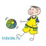 развивающие игры с мячом