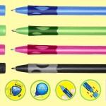Ручка для первоклассника. STABILO, PILOT, BIC