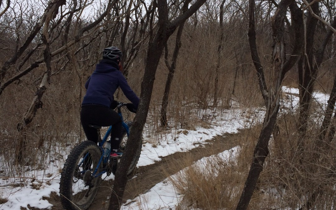 Fat Biking Keeps Me Sane
