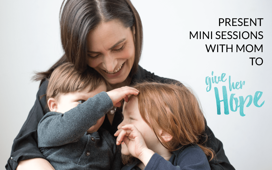 Moms + Minis Mother's Day Photo Fundraiser