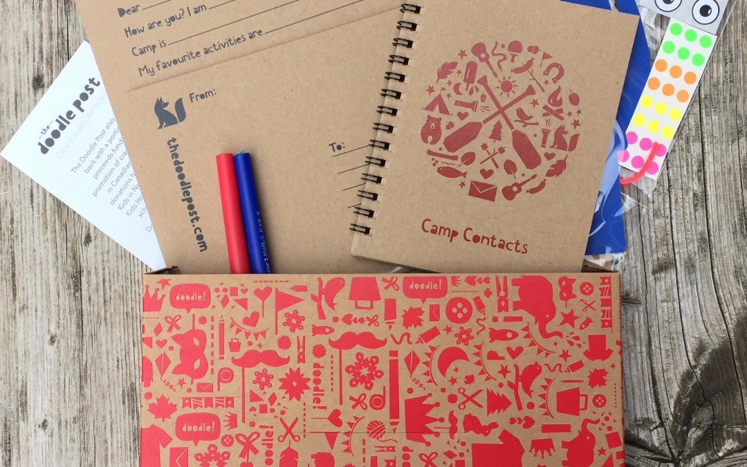 The Doodle Post || Made-in-Canada Craft Subscription for Kids