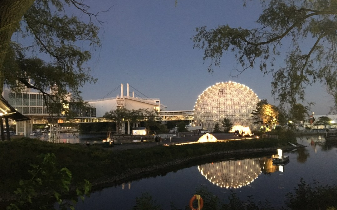 in/future arts + music festival at Ontario Place
