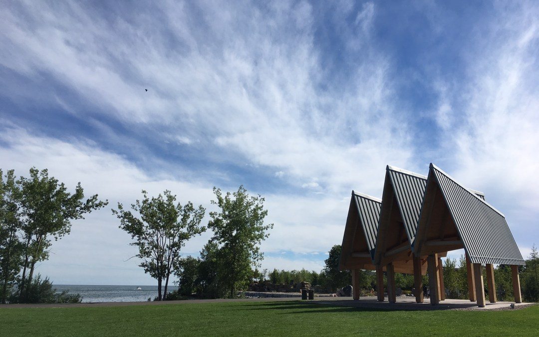 Toronto's new Trillium Park and William G. Davis Trail