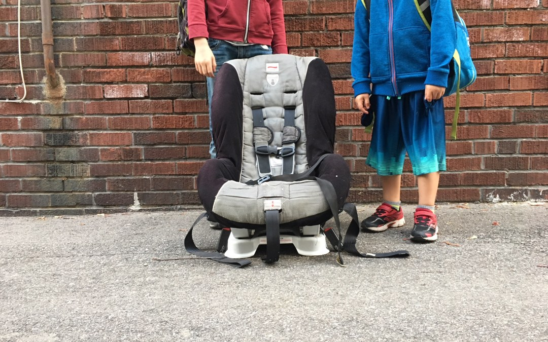 Recycle Your Child's Car Seats