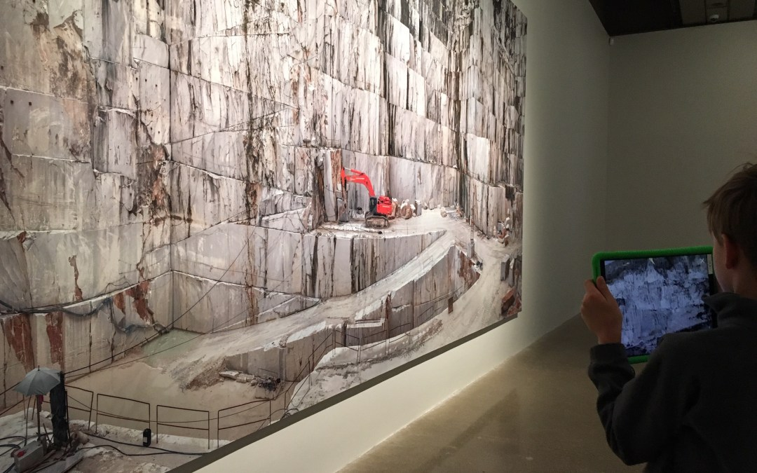 Anthropocene at the AGO with Kids in TOw