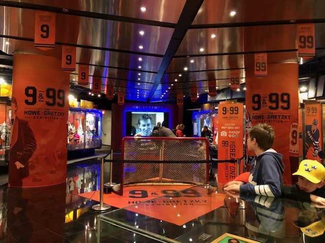 9 & 99: THE HOWE AND GRETZKY EXHIBITION AT THE HOCKEY HALL OF FAME