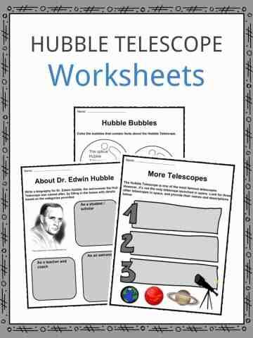 Hubble Telescope Worksheets